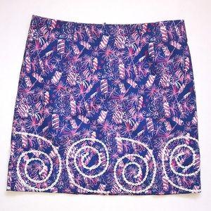 Lily Pulitzer Roslyn Skirt | Cherry Bomb | Size 6